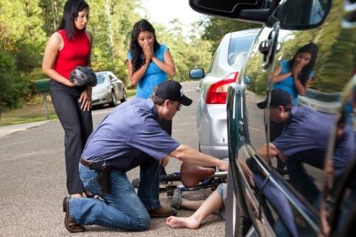 Car Accident Doctors in Punta Gorda, Florida tending to an victim