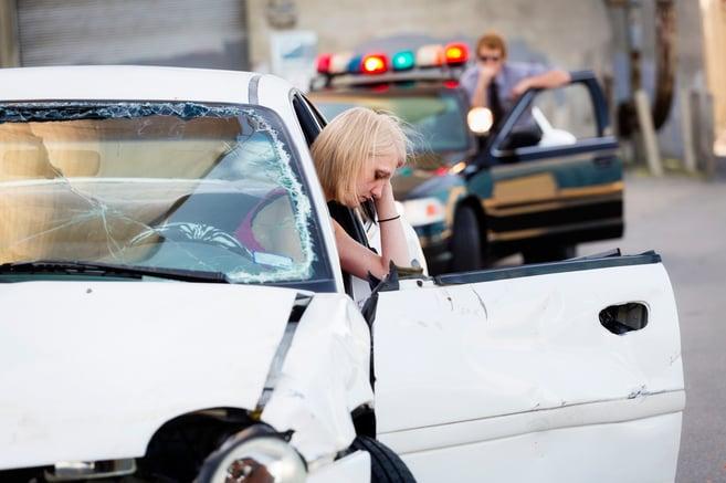 Woman Injured in a Car Crash in North Palm Beah, FL