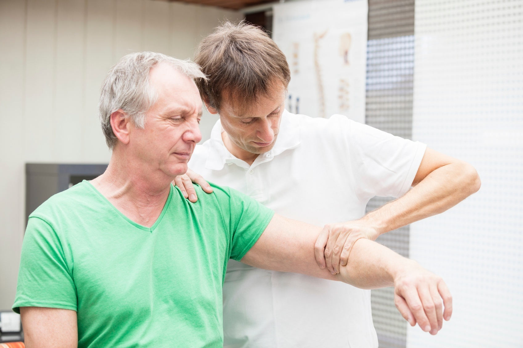 Chiropractor in Belltown Treating Patient